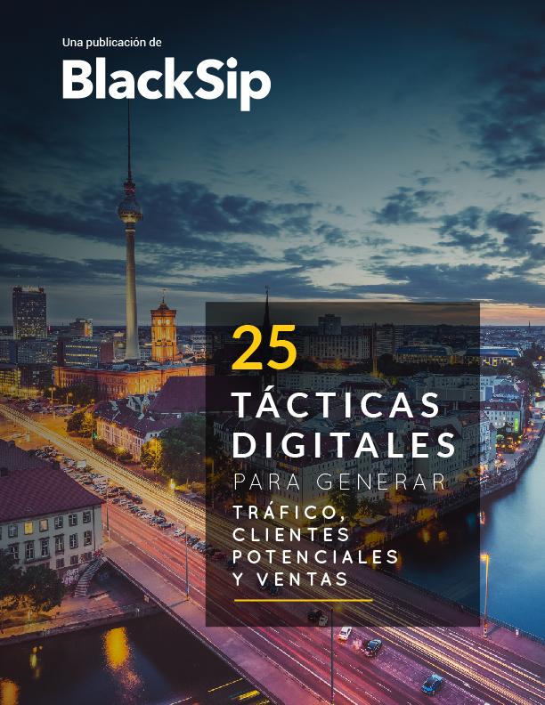 25 tácticas digitales para generar ventas